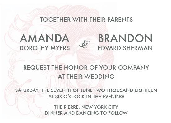wedding invitations - Maribella by Aleksandra Vujkov