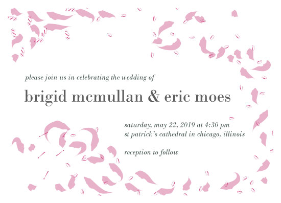 wedding invitations - Weee! Wedding Soft by Weee Designs