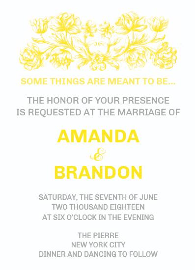 wedding invitations - Meant to be... by Aleksandra Vujkov