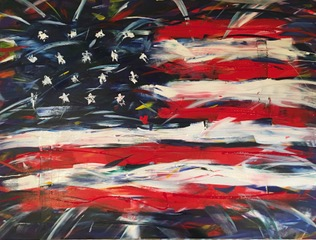 art prints - Born in the USA by Polly Gentry