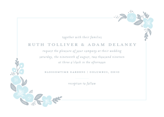 wedding invitations - Blossomy by Sarah Guse Brown