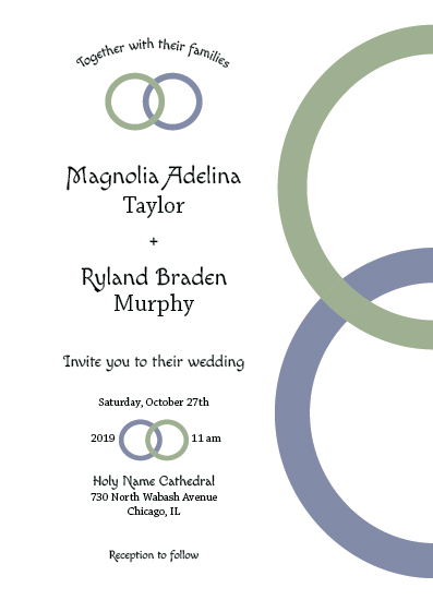 wedding invitations - With This Ring by MoMint