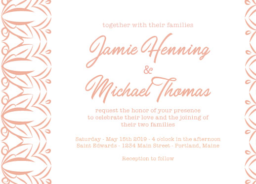 wedding invitations - Tulips to Kiss by Theresa Dryer