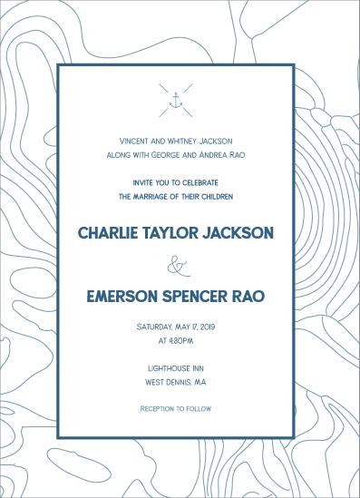 wedding invitations - Bay side wedding by Amy Cesal
