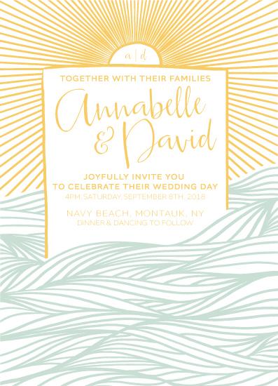 wedding invitations - Joyful Rays by Jill Seitz