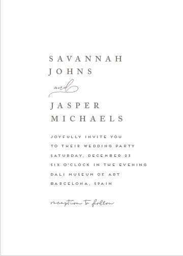 wedding invitations - lynne by chocomocacino