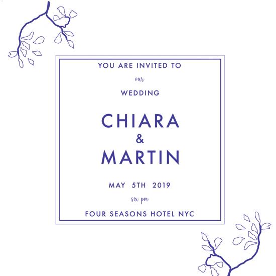 wedding invitations - Blooming Freshness by Agata Wojakowska