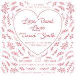 Love heart letterpress by Deyas Paper co.