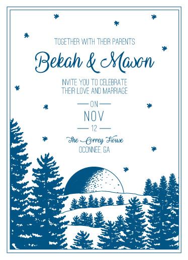 wedding invitations - Wedding Bells by Bekah Beckman