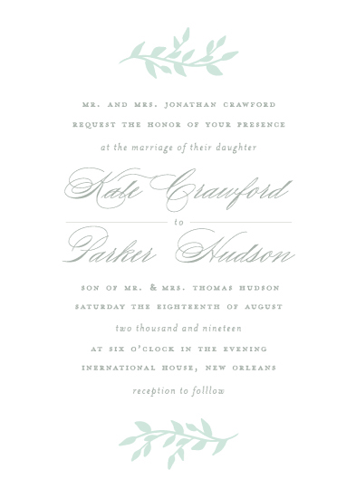 wedding invitations - Lilith by Jackie Crawford