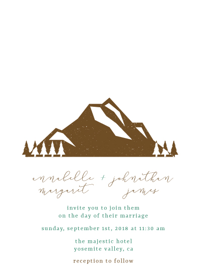 wedding invitations - Our Greatest Adventure by Salt and Light