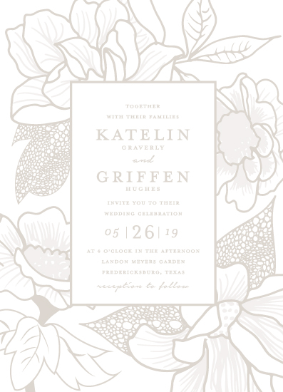wedding invitations - Botanical Garden by Kaydi Bishop