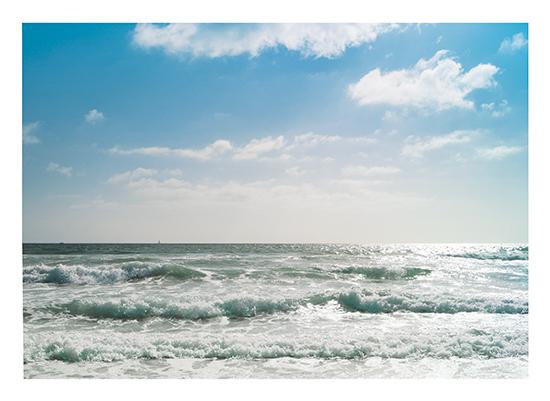 art prints - Crashing Waves by Kathy Par