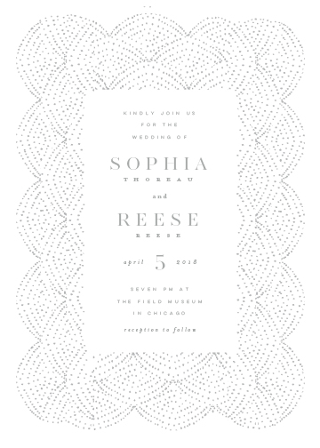 wedding invitations - Formal by Lori Wemple