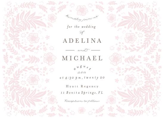 wedding invitations - Blooming Garden by Rega