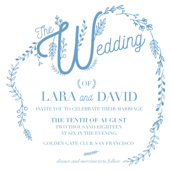 wedding invitations - The wedding branches by Deyas Paper co.