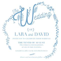 The wedding branches