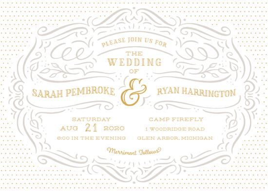 wedding invitations - En Pointe by Laura Bolter Design