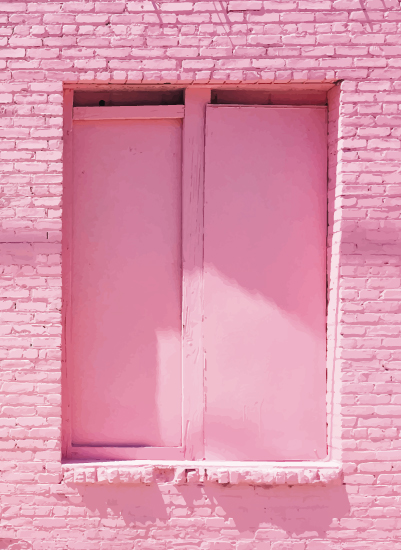 art prints - Pink Window No. 2 by Jenna Gibson
