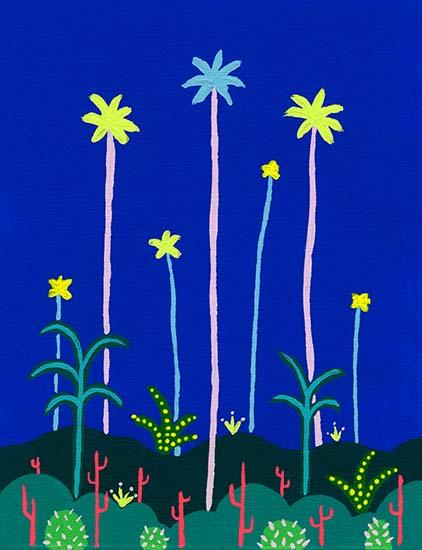 art prints - Palms & Cacti by JD