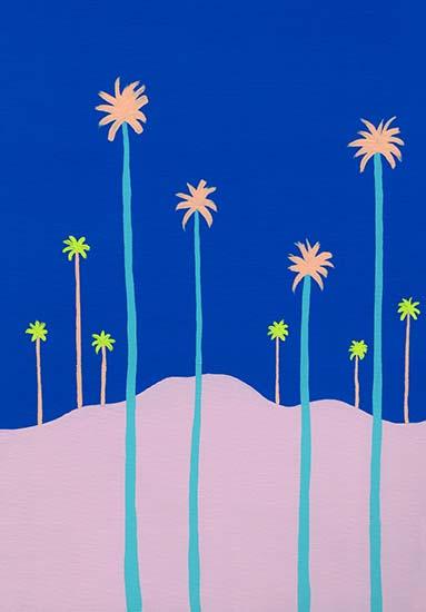 art prints - Cali Palms by JD
