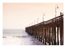 By the Wooden Pier by Kathy Par