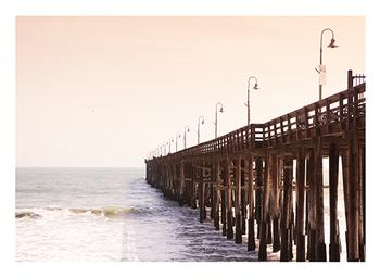 By the Wooden Pier