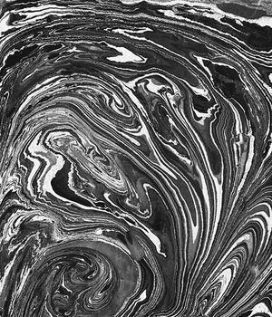 Monochrome marble art