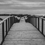 Wooden path by Lu Haddad