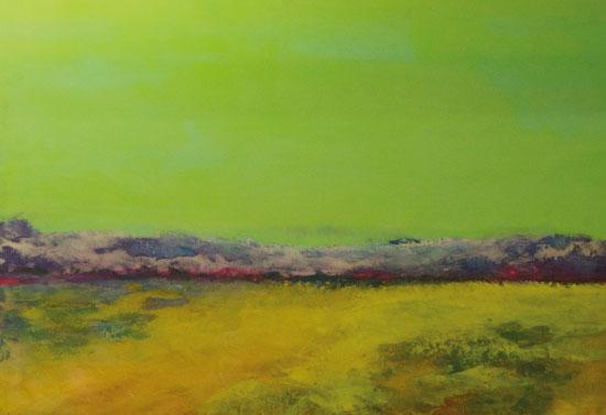 art prints - Green Sky by Pia Sjölin
