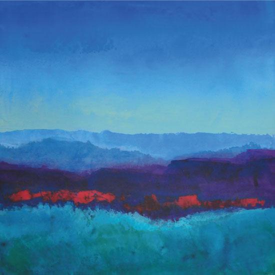 art prints - Blue Hills by Pia Sjölin