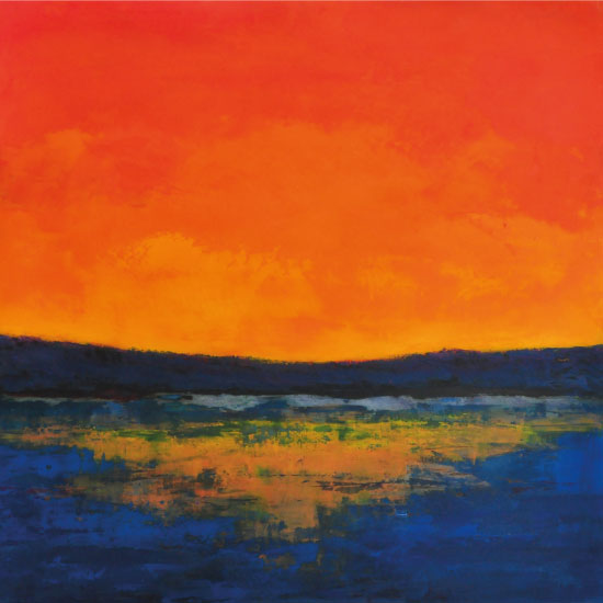 art prints - Sunset by Pia Sjölin