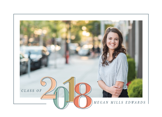 graduation announcements - The Gleaming Grad by Allison Massingill
