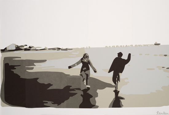 art prints - Long Beach by Rankin Willard