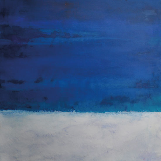 art prints - Moonlight on snow by Pia Sjölin