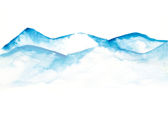 art prints - mountains by Heidi Jantz