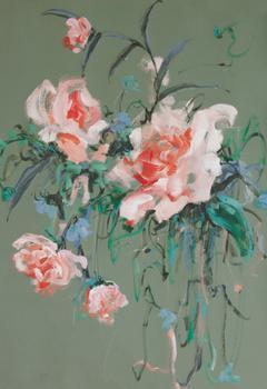 Arrangement in Rose & Teal
