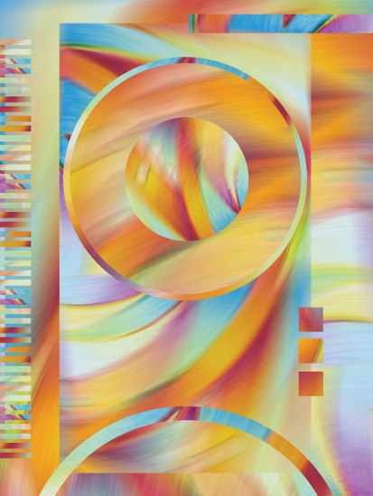 art prints - Sunlit Rhythm by DSH Design