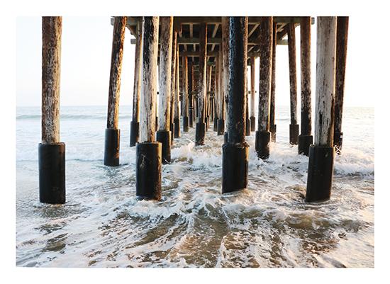art prints - The Wooden Pier by Kathy Par