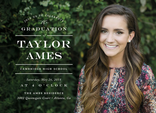 graduation announcements - Let's Celebrate the Grad by Jennifer Postorino