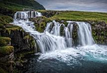 Kirkjufellsfoss Tumblin... by Steve Burkett