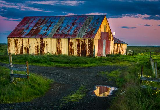 art prints - Moonrise Over Hernando by Steve Burkett