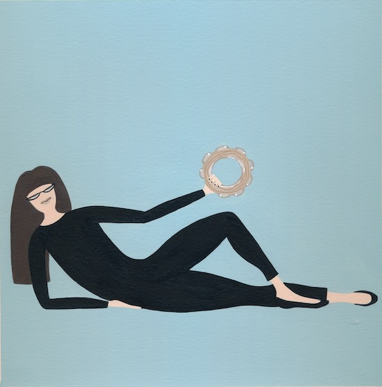 art prints - Beatnik Girl by Sarah Cohn