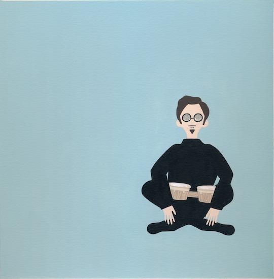art prints - Beatnik Guy by Sarah Cohn