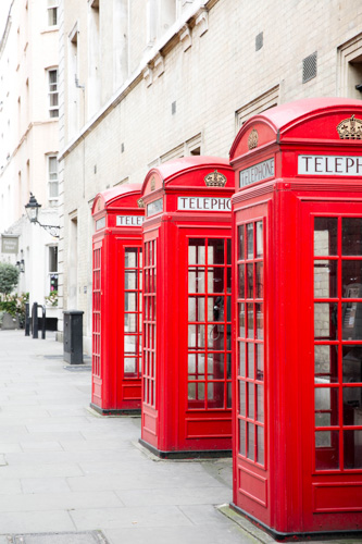art prints - London's Calling by Anna Argiropoulos