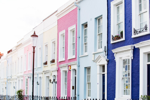 art prints - Notting Hill by Anna Argiropoulos