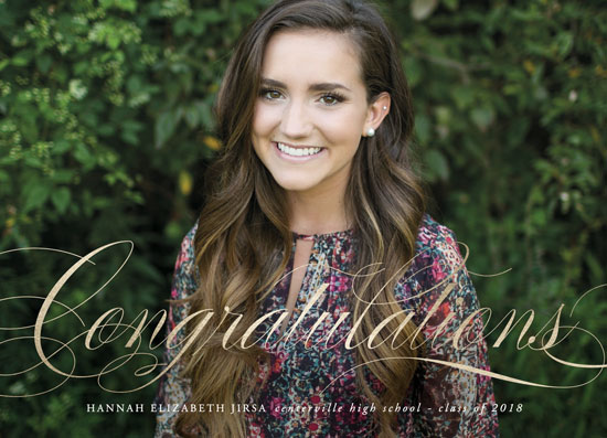 graduation announcements - Dignified by Jennifer Postorino