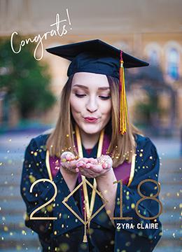 graduation announcements - Graduation Announcement by Alkein Villajos