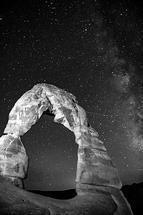 Delicate Milky Way by Miranda Driver