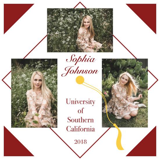 graduation announcements - Adventure begins… by Artichroma Designs